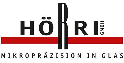LOGO Hörri GmbH – Mikropräzesion in Glas